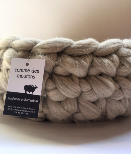 Light Grey Wool Cave fra Comme Des Moutons